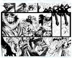 Bullet Witch Pages 12 - 13 by Sandoval-Art
