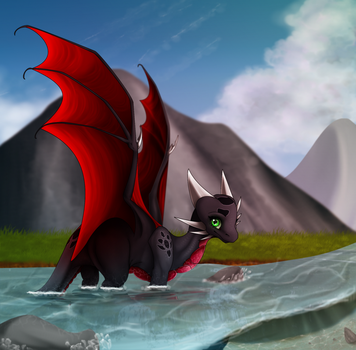 ~At The Lake~ by xX-Starduster-Xx
