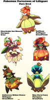 Pokemon Subspecies Lilligant