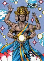 Brahma - Classic Mythology by tonyperna