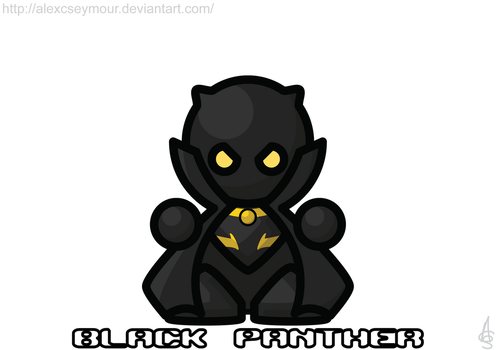Black Panther by alexcseymour