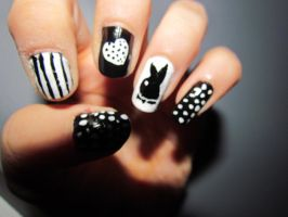 Playboy Nails 2 by MissFero