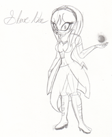Star-Na the Echidna by Dark-Amy-Rose