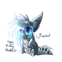 H4PPY B1RTHD4Y NUD3L by watermelonparasite