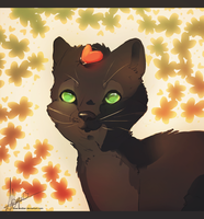 The tale of a cat and  a ladybug by Endber