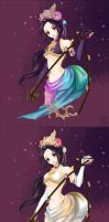 DW6_Diaochan(1P and 2P) by Draven4157