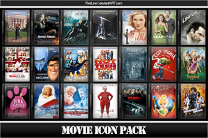 Movie Icon Pack 25 by FirstLine1