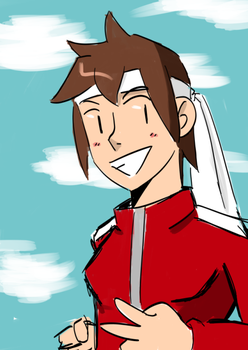 Post SF4 Sakura by WaywardDoodles