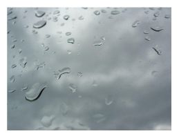 waterdrops on my window by porotto