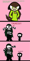 Taxes!! by MoaTheOreoQueen