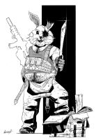 April_The Bunny by gunzet