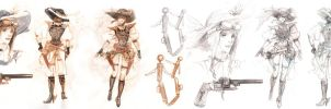 FF XIII Lightning Returns Contest ver Steampunk by DubuGomdori