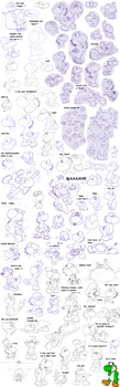 lots 'o Yoshis :v by Nintendrawer
