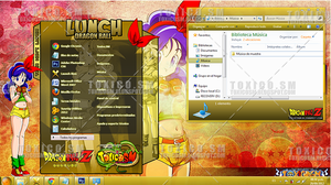 Theme Windows 7: LUNCH by ToxicoSM