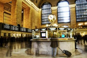 Ghostly Grand Central by Mjag