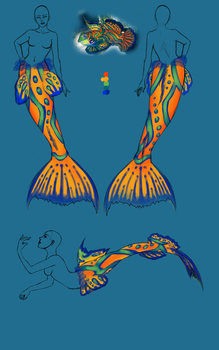 Tail Design - Mandarin Goby by seaspire