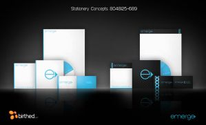 Emerge Stationery Concepts by daveycoleman