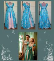 Enchanted Curtain Dress by AFahrbach