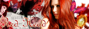REDHEAD banner by RoseOfTheFlames