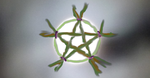 Full Moon Pentacle by Moon-Crafter