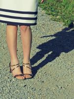 Navy Shoes by pinyty