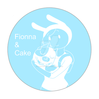 Button - .:Fionna and Cake:. by Greta-chan44