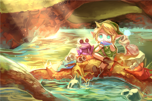 :Concert for Frogs: by starrelly-chan