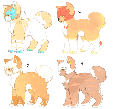 OLD ADOPTS //open by ufohouse