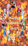 Happy Halloween 2012! by The-Rainbow-Faerie