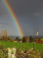 Arc en ciel au printemps by eco6org