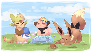 PKMNA:: [Collab] Poke Daycare by Raincup