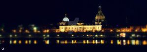 DRESDEN BY NIGHT by latvianqueen