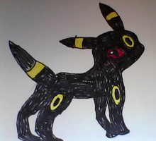 Umbreon drawing by SusanLucarioFan16