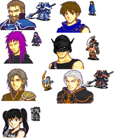 Advance Wars Fire Emblem style by korneipe