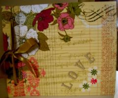 Love Scrapbook Album by SkillfulCreations