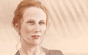 Miss Catherine Tate by concentriccookies
