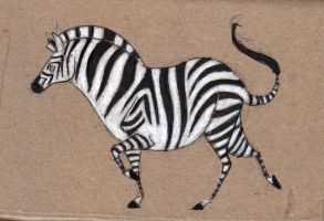 Zebra sketch by rz250