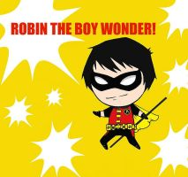 ROBIN THE BOY WONDER by Azul0blue0sky