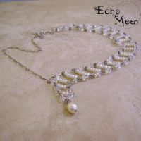 Asymmetrical Necklace by EchoMoonJewelry