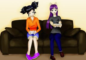 Girl gamers by misspants12