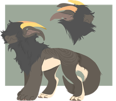 [ADOPT] Monster canine // CLOSED by Umv