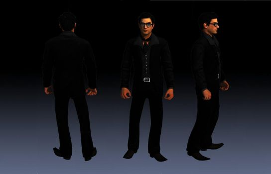 Vito Scaletta Suit 2 From DLC Vegas Skin For SA by Elpadrino1935