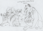 Lion King Style - Zerev Family (WIP) by AnimeFan4Eternity23
