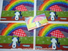 Postcards and Magnets for sale by Rainbowbubbles