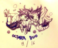 -OCTOBER DUO- by HoKeki