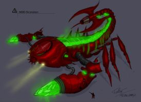 NOD Tiberium Scorpion by ToBe85