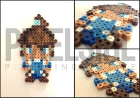 Korra Perler Bead Art - The Legend of Korra by pixelsirl