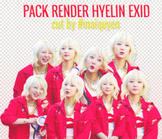 //06.16.15// Pack Render Hyelin EXID #3 by nothingforthisname