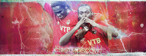 CSKA Moscow Collab by Hatem-DZ