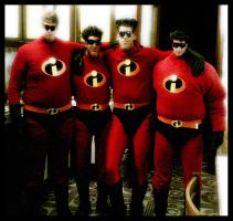 The Incredibles by varna-stock